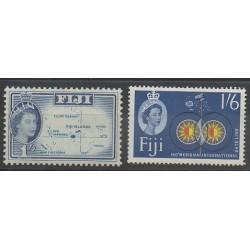 Fidji - 1961 - No 163/164