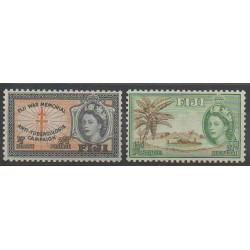 Fidji - 1954 - No 145/146 - Santé ou Croix-Rouge