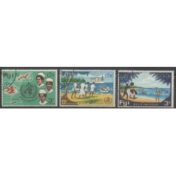 Fidji - 1968 - No 236/238 - Oblitéré