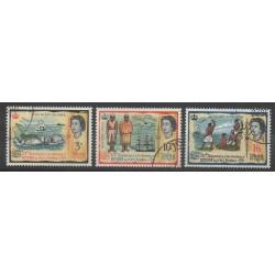 Fidji - 1966 - No 200/202 - Histoire - Oblitéré