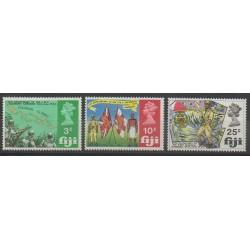 Fidji - 1969 - No 256/258 - Histoire