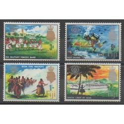 Fiji - 1967 - Nb 208/211
