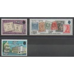 Fidji - 1970 - No 280/282 - Timbres sur timbres