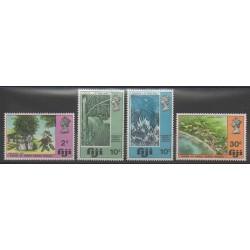Fidji - 1970 - No 268/271 - Santé ou Croix-Rouge