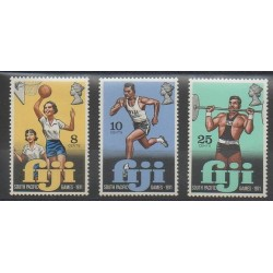 Fidji - 1971 - No 299/301 - Sports divers