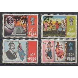 Fidji - 1970 - No 276/279 - Histoire