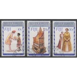 Fidji - 1977 - No 351/353 - Royauté - Principauté - Oblitéré