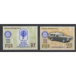 Fiji - 1976 - Nb 345/346 - Rotary