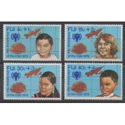 Fiji - 1979 - Nb 401/404 - Childhood