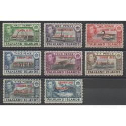 Falkland-Terre de Graham - 1944 - No 9/16