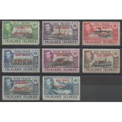 Falkland-Orcades du Sud - 1944 - No 17/24