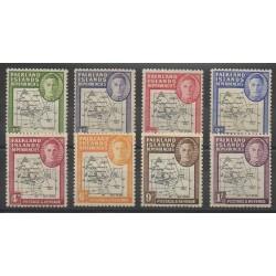 Fakland-Dépendances - 1946 - No 33/41