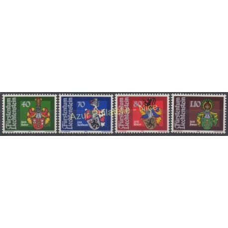 Liechtenstein - 1982 - No 734/737 - Armoiries
