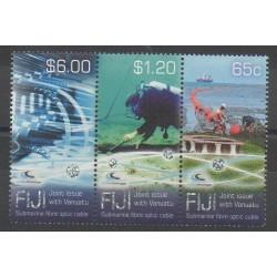 Fidji - 2014 - No 1272/1274 - Télécommunications