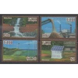 Fidji - 2012 - No 1255/1258 - Environnement