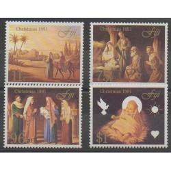 Fiji - 1991 - Nb 654/657 - Christmas