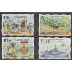 Fiji - 1995 - Nb 743/746 - Second World War