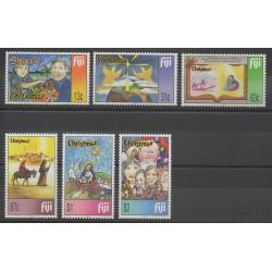 Fiji - 1999 - Nb 884/889 - Christmas