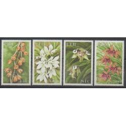 Fiji - 1999 - Nb 872/875 - Flowers