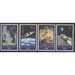 Fiji - 1999 - Nb 868/871 - Space