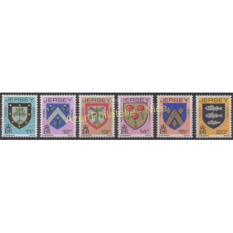 Jersey - 1981 - No 258/263 - Armoiries