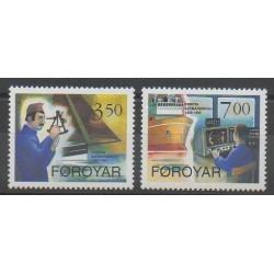 Féroé (Iles) - 1994 - No 260/261 - Navigation
