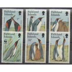 Falkland - 1991 - No 553/558 - Oiseaux