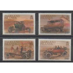Falkland - 1988 - No 488/491 - Voitures