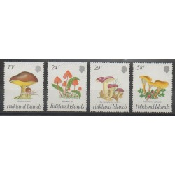Falkland - 1987 - Nb 480/483 - Mushrooms