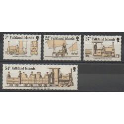 Falkland - 1985 - No 432/435 - Chemins de fer