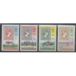 Falkland - 1978 - No 274/277 - Poste - Timbres sur timbres