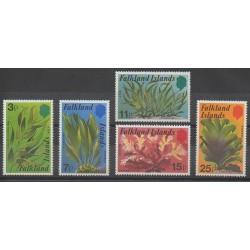 Falkland - 1979 - Nb 278/282 - Flora