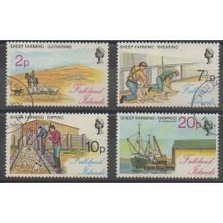 Falkland - 1976 - No 244/247 - Oblitéré