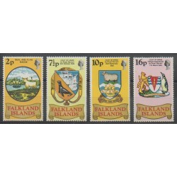 Falkland - 1975 - Nb 235/238 - Coats of arms