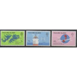 Falkland - 1977 - No 251/253 - Télécommunications