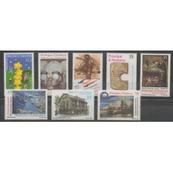 Andorre espagnol - Année complète - 2000 - No 261/268