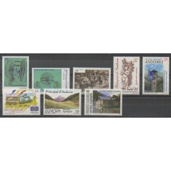 Andorre espagnol - Année complète - 1999 - No 253/260