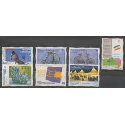 Andorre espagnol - Année complète - 1998 - No 246/252