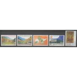 Andorre espagnol - Année complète - 1995 - No 231/235