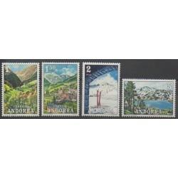 Andorre espagnol - 1972 - No 65/68 - Sites