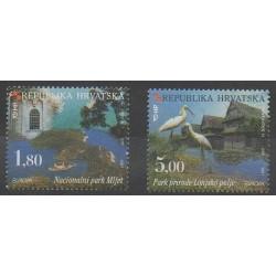 Croatia - 1999 - Nb 468/469 - Birds - Europa