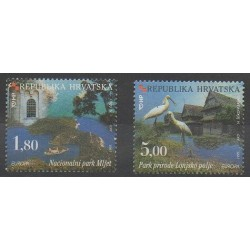 Croatie - 1999 - No 468/469 - Oiseaux - Europa