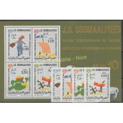 Somalia - 1979 - Nb 235/238 - BF 7 - Childhood