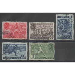 Russia - 1940 - Nb 773/777 - Various sports - Used