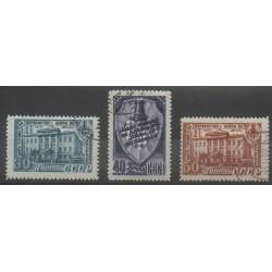 Russie - 1948 - No 1264/1266 - Échecs - Oblitéré