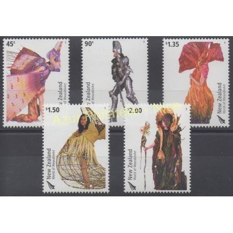 New Zealand - 2004 - Nb 2082/2086 - Fashion