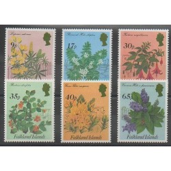 Falkland - 1995 - No 644/649 - Fleurs