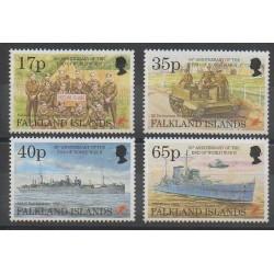 Falkland - 1995 - Nb 654/657 - Second World War
