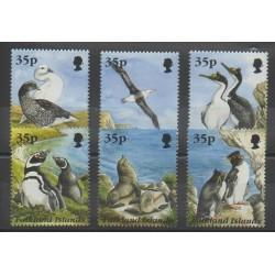 Falkland - 1995 - No 662/667 - Oiseaux