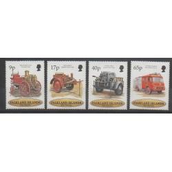 Falkland - 1998 - Nb 710/713 - Firemen